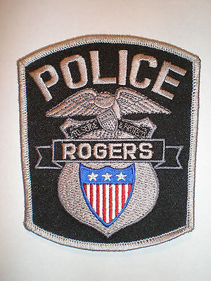 Minnesota Rogers police patch MN