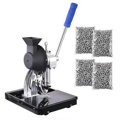 Semi-Automatic Grommet Machine Hand Press Tool 4000pcs #2 Eyelet Banner Flag