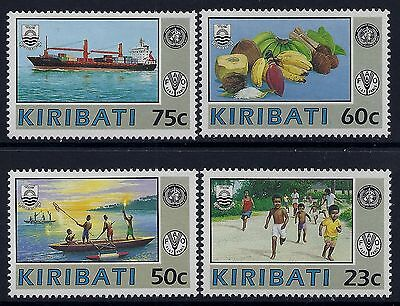 1992 Kiribati World Health Organisation Set Of 4 Fine Mint Mnh/muh