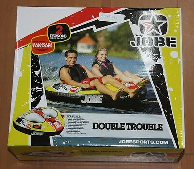 Jobe Double Trouble 2 Person Inflatable Tube Brand New!!!