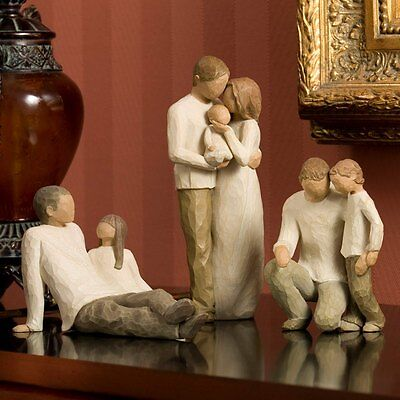 Willow Tree Family Figurines Figures Ornaments Relationships Children Collection