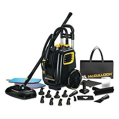 McCulloch Steam Cleaner System Steamer Mop Cleaning Floor Carpet Rugs Car Boat