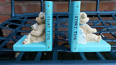 Pair of Teddy Bear Bookends