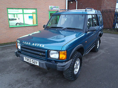 1999 Land Rover Discovery Td5 Gs Blue
