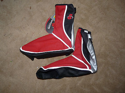 Hincapie Cycling Wind Tex Shoe Covers Red Size 41-42 New