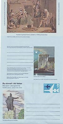GB Stamps Aerogram / Air Letter APS37 - 10 1/2p Scottish Clans Issue 1977