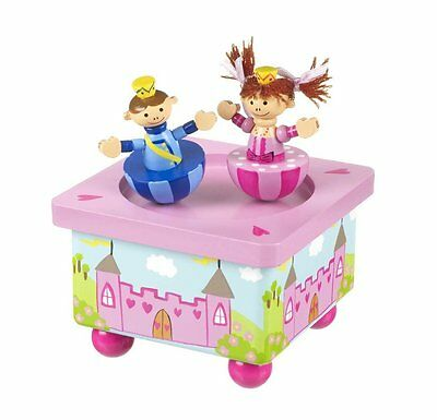 Orange Tree Toys Hand Crafted Wooden Princess Wind Up Music Box