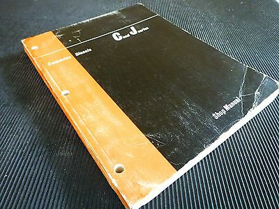 "CUMMINS  DIESEL "" C and J series "" 1971   GENUINE  SERVICE / REPAIR  MANUAL"