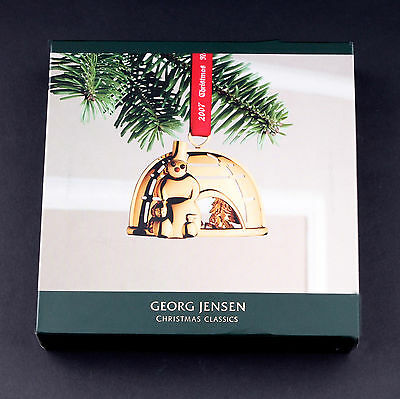 Georg Jensen 2007 Christmas Mobile: Christmas in Greenland, New in Box.