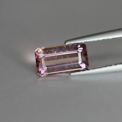 "1.38Cts""Madagascar"" Natural Baby Pink"" Tourmaline""Emerald Cut""PR1511"