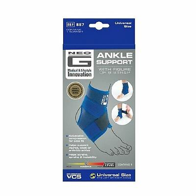 Neo G Ankle Support With Figure of 8 Strap 1 2 3 6 Packs