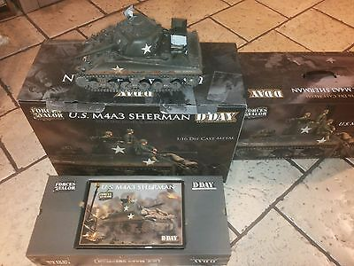 Forces of Valor -  cod 85007 - US M4A3 SHERMAN - scala 1:16 Die cast