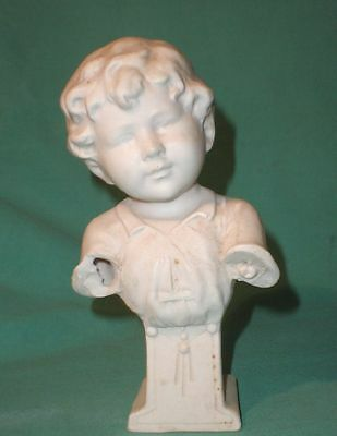 porcelain, bust of a boy /antique/1890/1900s/Germany