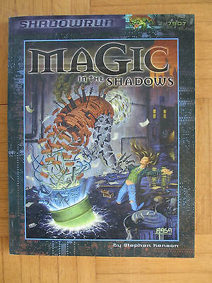 SHADOWRUN – MAGIC IN THE SHADOWS - FASA 7907 – English - SR FRPG Roleplay guide