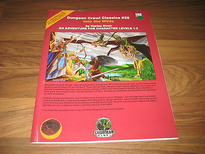 Dungeon Crawl Classics #28 Into the Wilds 2006 Goodman Games SC