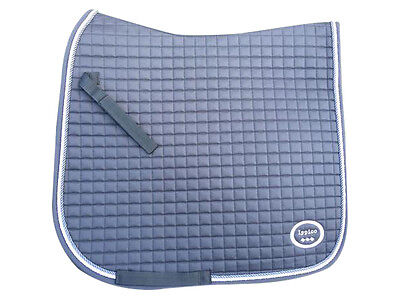Grey Dressage Saddle Pad - High quality and superior design (FULL and COB)