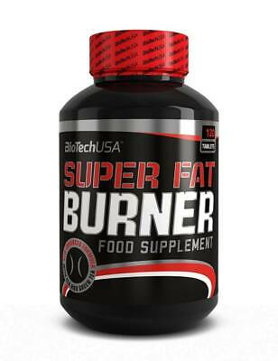 (57,90EUR/kg) Biotech USA - SUPER Fat Burner 120 Tabletten