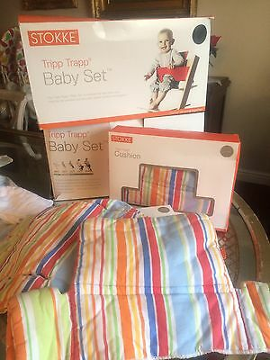 Trip Trap Cushions For Baby High Chair Kit 1 Of 2 For Sale
