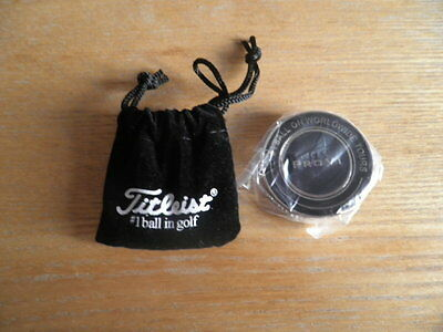 Titeleist Ball Marker Brand New Pro V 1 With Pouch