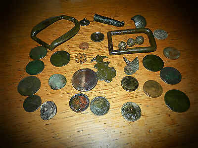 Medieval... Jetton ..cartwheel Penny Plus.......metal Detecting Finds....mixed