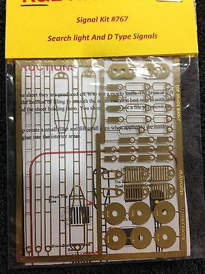 H.O Scale Brass D Type & Searchlight Signal Kit#767
