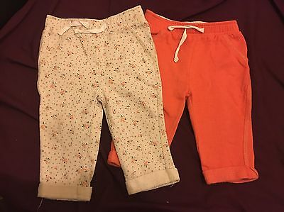 Baby Girls 6-9 Months Trousers From F&F