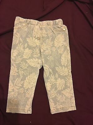 Baby Girls 6-9 Months Jeggings From Next