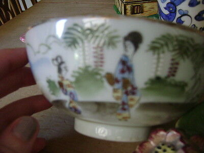 Antique Japanese Bowl Very Beautifully Patterned