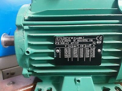 2.2 KW- 2,6 KW 3 phase electric motor. Brand new.