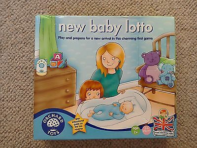 New Baby Lotto orchard toys game! Prepare for a new sibbling
