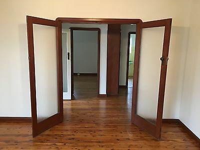 Vintage wooden/glass internal french doors