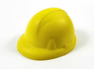 Anti-Stress Reliever Stress Ball Builders Hard Hat, Construction, Safety Helmet