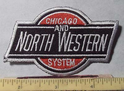 PATCH ~ CHICAGO and NORTH WESTERN SYSTEM RAILROAD ~ CHICAGO ILLINOIS