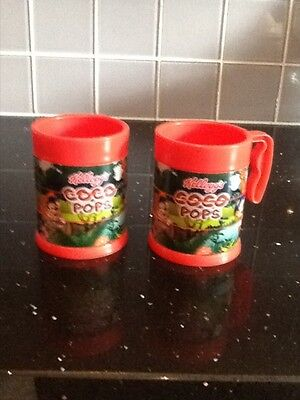 Kellogs limited edition coco pops cups