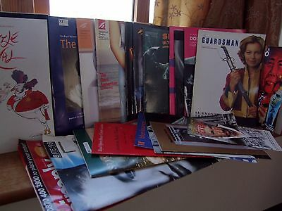 Eclectic Collection of theatre programmes