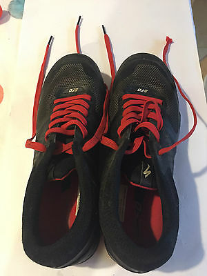Specialized 2FO Clip MTB Shoes Black Red 43