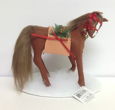 """Annalee Christmas Merrymint Horse 8"""" New w Tags"""