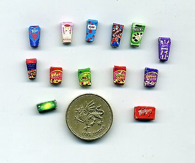 Dollshouse - 24th scale -   Selection of  SWEETS