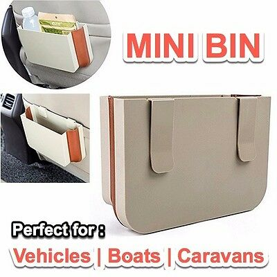 Car Vehicle RUBBISH BIN, Car Expanding STORAGE CADDY, Great For Journeys, Travel