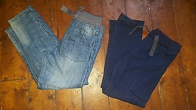 Two Pair Boys Trousers  Age 9/10 Years
