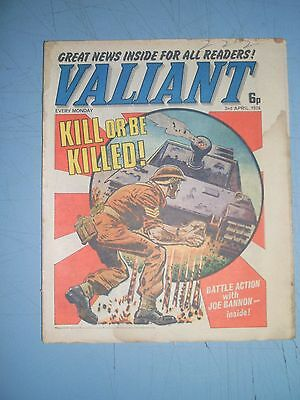 Valiant issue dated April 3 1976