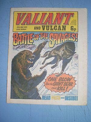 Valiant issue dated May 29 1976