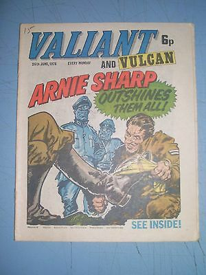 Valiant issue dated June 26 1976