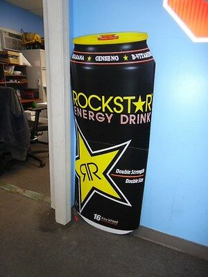 rockstar energy drink double sided foldable sign