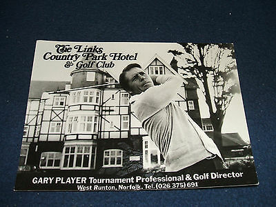 (Genuine Signed) GARY PLAYER (South African Golf Legend) Promo Photo