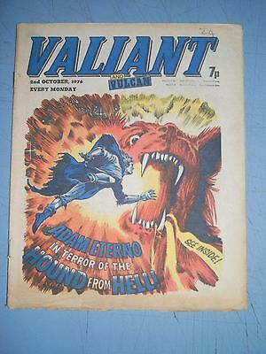 Valiant issue dated October 2 1976