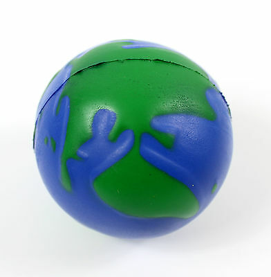 Earth Globe Stress Ball reliever World Palm Planet Kids Adult Autism gift ADHD