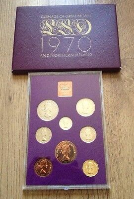 1970 Coinage Of Great Britain