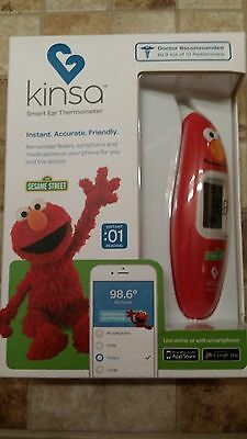 Kinsa smart ear thermometer Sesame Street Elmo - New in unopened box
