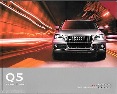 2015 15  Audi  Q5  original sales  brochure  MINT